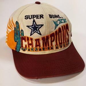 Dallas cowboys  Super bowl champions cap VTG
